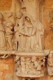 Cadouin abbey in Perigord royalty free stock image