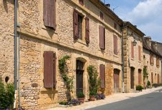 Cadouin, France Royalty Free Stock Image