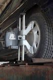 Cadrage de roue Photographie stock