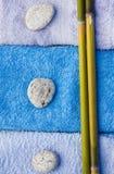 Cadrage de trois pierres Photographie stock libre de droits