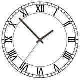 Cadran d'horloge illustration libre de droits