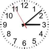Cadran d'horloge illustration stock