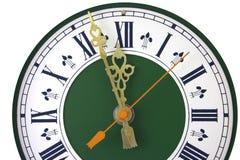 Cadran d'horloge analogique Images libres de droits