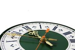 Cadran d'horloge analogique Images stock
