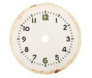 Cadran d'horloge vide photos stock