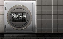 cadran de code de cadran du code 3d Photographie stock libre de droits