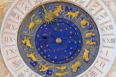 Cadran de phase de lune Photo libre de droits