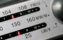 Cadran par radio Photo libre de droits