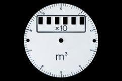 Cadran pour le compteur de l'eau Images stock