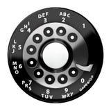Cadran rotatoire de cru Photo stock