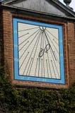 Cadran solaire à 11 Photo stock