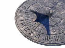 Cadran solaire Image libre de droits