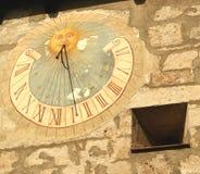 Cadran solaire. Photo libre de droits