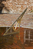 Cadran solaire grec Image libre de droits