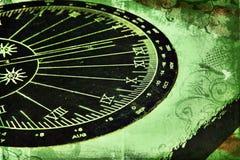 Cadran solaire grunge illustration libre de droits
