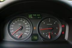 Cadrans de véhicule photos stock