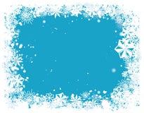Cadre 1 de flocon de neige image libre de droits
