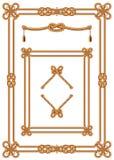 Cadre abstrait de câble Images stock