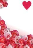 Cadre abstrait, fleurs Photos libres de droits