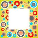 Cadre abstrait vert Images libres de droits