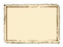 Cadre antique de photo images stock