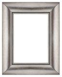 Cadre argenté élégant Images stock
