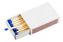 Cadre avec des allumettes photo libre de droits