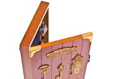 Cadre avec des clés Images libres de droits