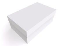 Cadre blanc 3d Images stock