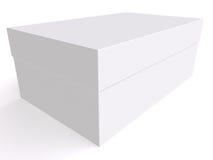 Cadre blanc 3d Images libres de droits