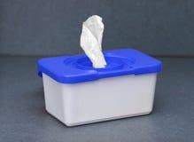Cadre bleu 1 de nettoyeur images libres de droits