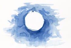 Cadre bleu Photographie stock libre de droits