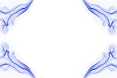 Cadre bleu de fumée Image libre de droits