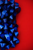 Cadre bleu de proue Image stock