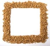 Cadre carré des granules Photos libres de droits