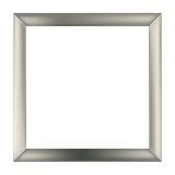 Cadre carré en métal Photographie stock