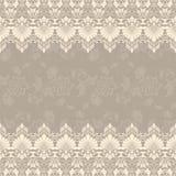Cadre carré floral fin de vecteur Élément décoratif pour des invitations et des cartes Élément de frontière Photo libre de droits
