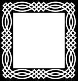 Cadre celtique de noeud Photographie stock libre de droits
