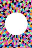 Cadre circulaire abstrait photographie stock libre de droits