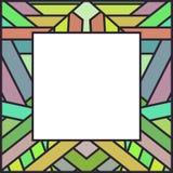 Cadre coloré de vecteur Image libre de droits