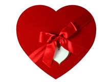 Cadre comme coeur Images stock