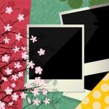 Cadre conceptuel de cru Images stock