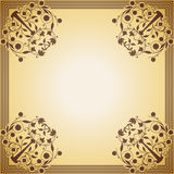 Cadre décoratif dans le style de vintage Image libre de droits