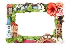 Cadre décoratif de photo images libres de droits