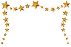 Cadre d'étoile de Noël. Image libre de droits