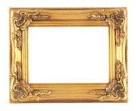 Cadre d'or Photo libre de droits