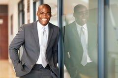 Cadre d'affaires africain Photographie stock