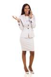 Cadre d'affaires africain photos stock