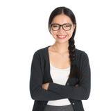 Cadre d'affaires asiatique Photos libres de droits