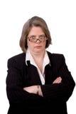 Cadre d'affaires féminin Photo libre de droits